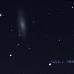 PanSTARRS approchant de M31 le 3 avril
