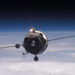 Un vaisseau Progress semblable à celui qui retombera sur Terre dans les prochaines heures
