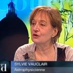 Sylvie Vauclair lors d'une intervention sur Toulouse Télévision