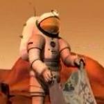 Petit matin sur Mars