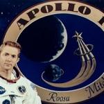 Stuart Roosa, pilote du module de commande de la mission lunaire Apollo 14, janvier 1971