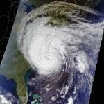 L'ouragan Isabel vu par Terra