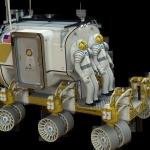 Avec les scaphandres positionnés directement à l'extérieur du véhicule d'exploration et un accès par le dos, plus besoin de sas lors des sorties.