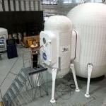 Prototype d'habitat gonflable actuellement en cours d'évaluation par la Nasa