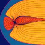 La magnétosphère terrestre.