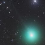 Aspect de la comète 46P/Wirtanen le 26 novembre 2018