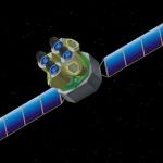 Une des configurations possibles de l'observatoire spatial Eddington. Les nouveaux Mondes du Cosmos pour 200 millions d'euros, et l'Europe n'en serait pas capable ?