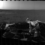 Le premier panorama martien transmis par Spirit