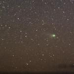 La comète Neat vue par Jimmy Westlake le 5 mai dernier. Pose de 3 minutes.