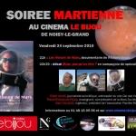 Soirée martienne au Bijou le 24 septembre 2010