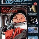 La couverture du 2e numéro d'Espace et Exploration, en vente chez tous les marchands de journaux en France et en Belgique