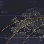 Les traces au sol des probables 3 dernières orbites d'UARS encadrent remarquablement le territoire métropolitain, avec une mention toute spéciale pour Marseille et la côte d'Azur.