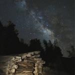 Une Lyride de 2009 en pleine Voie lactée vue depuis la Californie