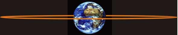 Orbite d\'un satellite géostationnaire.
