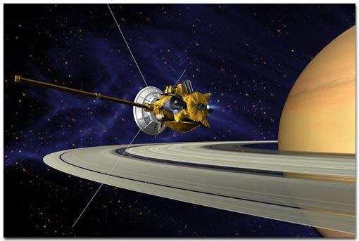 La double mission Cassini-Huygens atteindra les parages de Saturne en 2004