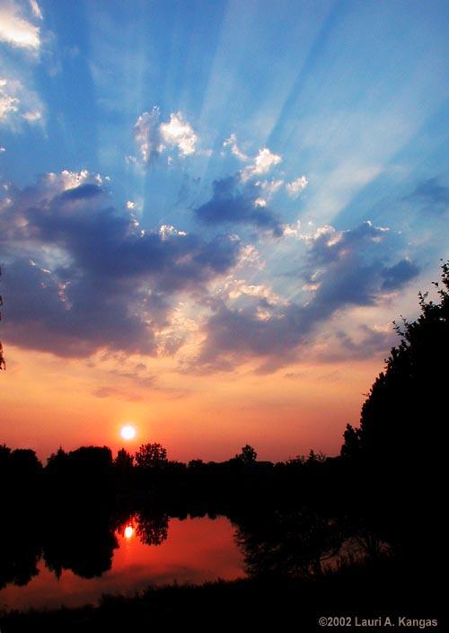 Des nuages comme ceux-ci contrarient les scientifiques qui tentent de mesurer la constante solaire depuis le sol.