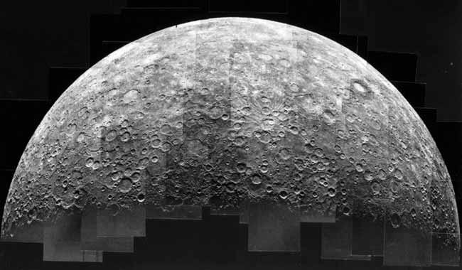 Mercure, un enfer de cratères