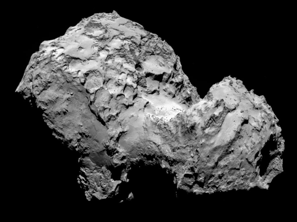 La comète sur laquelle Philae va tenter de se poser aujourd\'hui