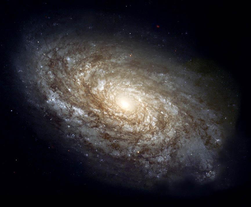 La galaxie spirale NGC4414 située à 60 millions d\'années lumière de la nôtre