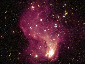 La galaxie irrégulière NGC6833
