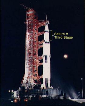 Apollo 12 sur le pas de tir
