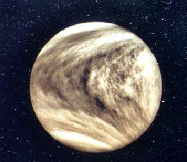 La brillante Vénus vue par la sonde Pioneer Venus en 1979