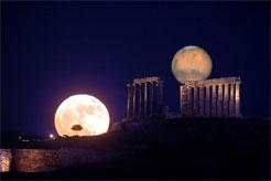Deux lunes dans le ciel? Oui, sur Désinformations.com!