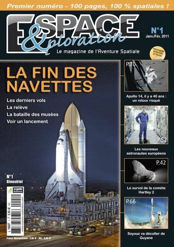 Espace et Exploration, un nouveau magazine pour ceux qui ne se contentent pas d\'admirer les étoiles, mais veulent les observer au plus près