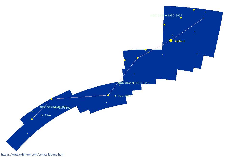 Constellation de l\'Hydre