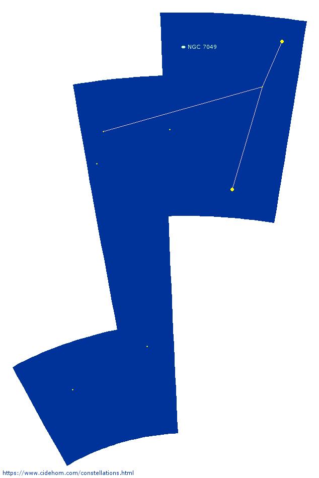 Constellation de l\'Indien