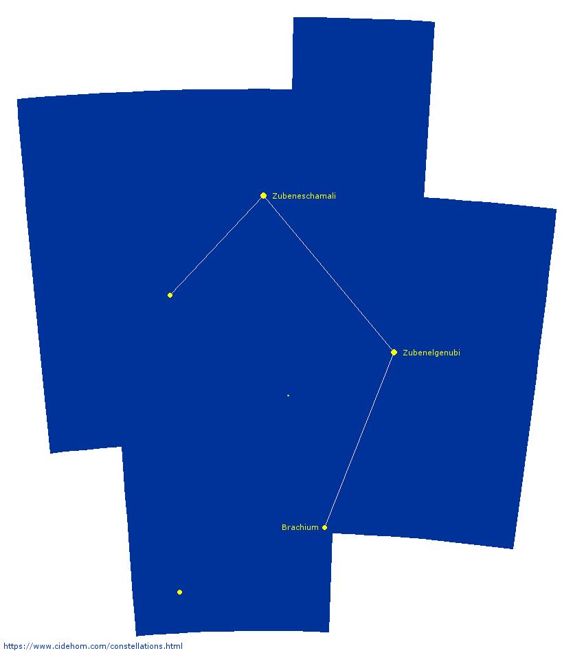 Constellation de la Balance