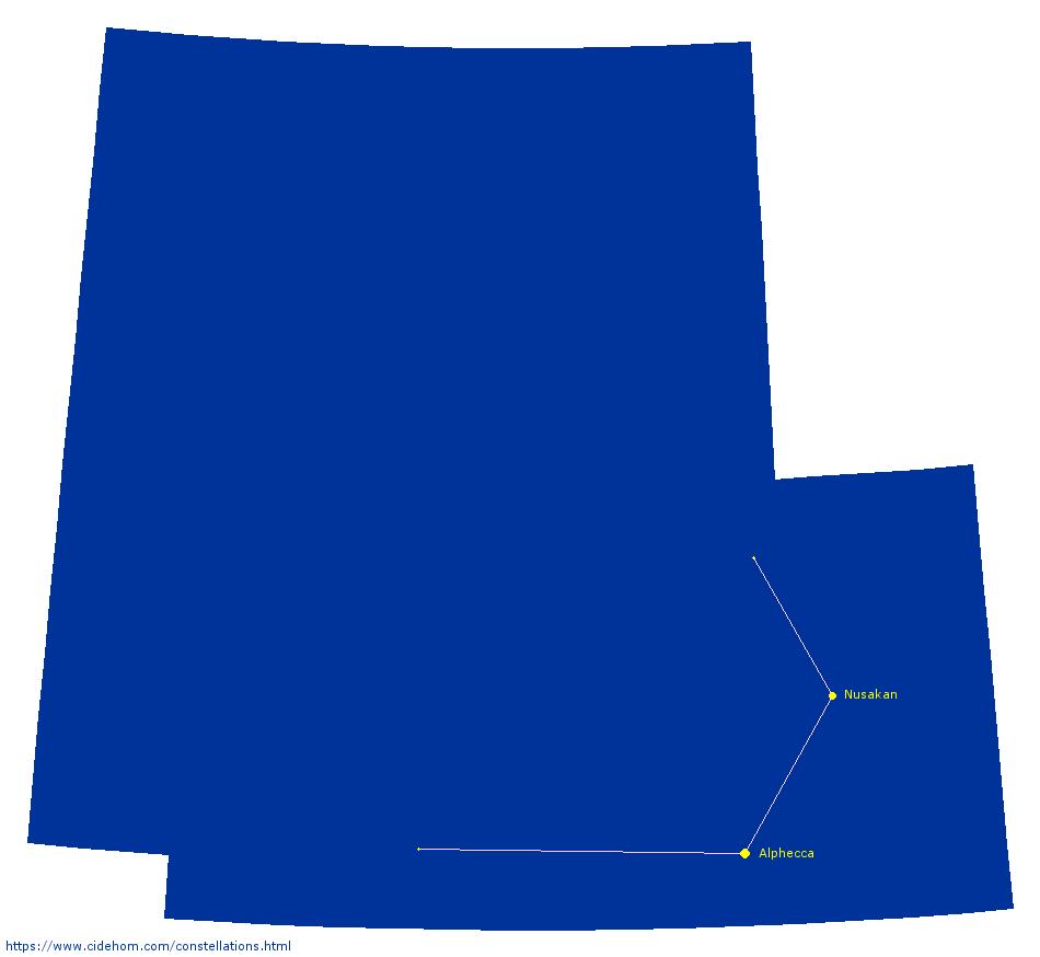 Constellation de la Couronne Boréale