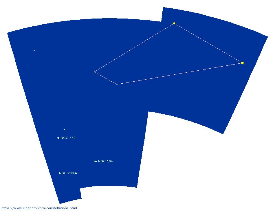 Constellation du Toucan