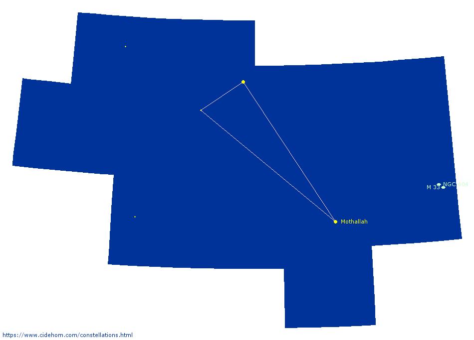 Constellation du Triangle