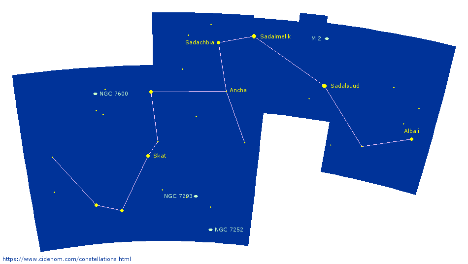 Constellation du Verseau