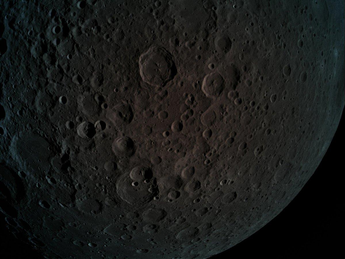 La face cachée de la Lune vue par Beresheet