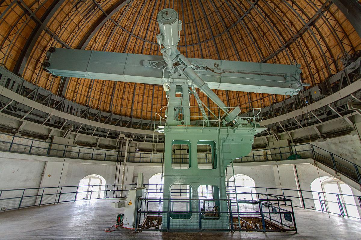 La grande lunette de l\'observatoire de Paris-Meudon